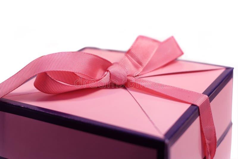 Presentes cor-de-rosa fotografia de stock royalty free