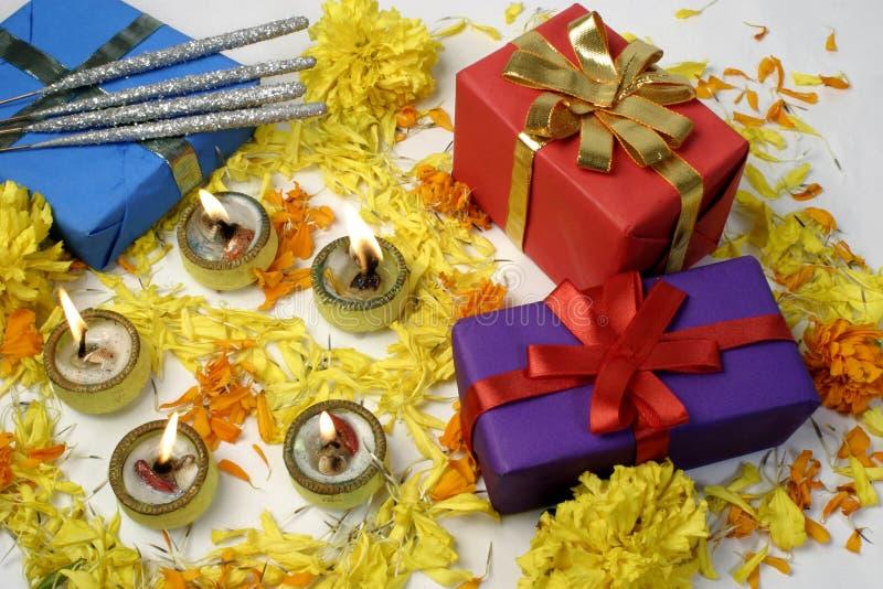 Presentes de Diwali foto de stock royalty free