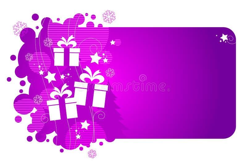 Presentes de feriado ilustração do vetor