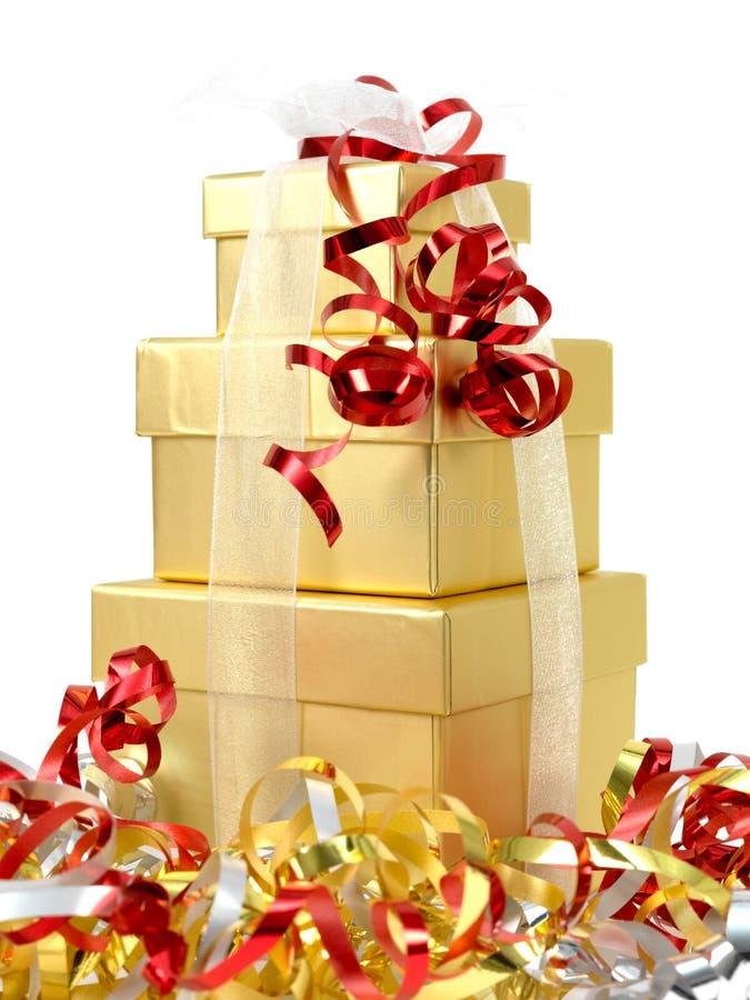 Download Presentes de Natal foto de stock. Imagem de objeto, christmas - 16865934