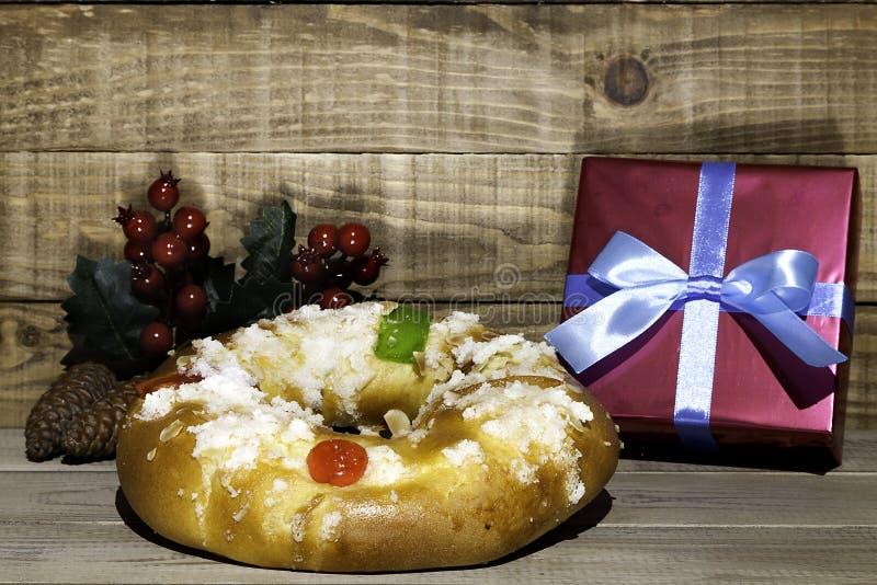 Presentes de Natal do bolo do esmagamento II fotos de stock royalty free