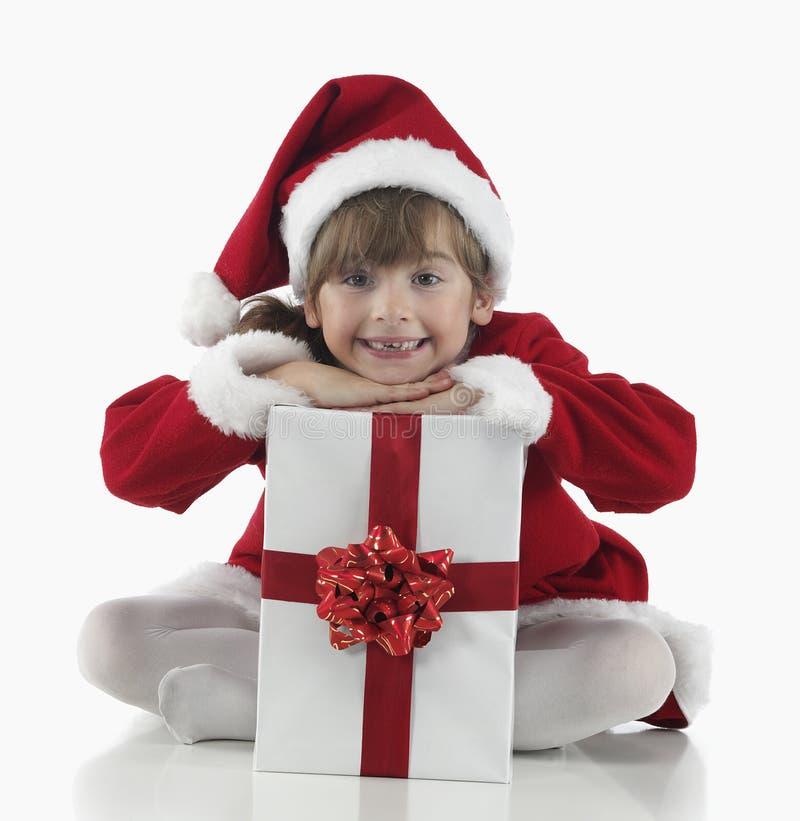 Download Presentes De Una Niña Y De Navidad Imagen de archivo - Imagen de navidad, muchacha: 7150425