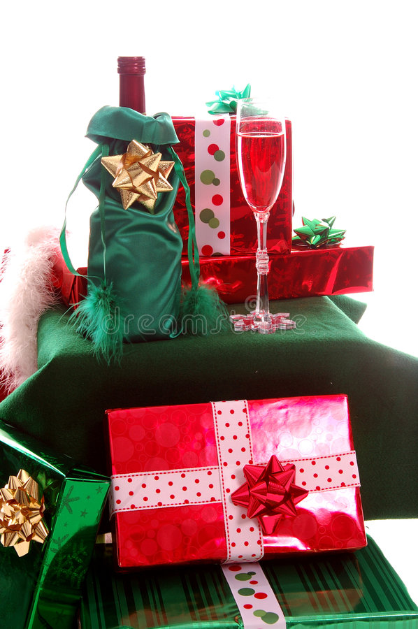 Presentes do Natal foto de stock royalty free
