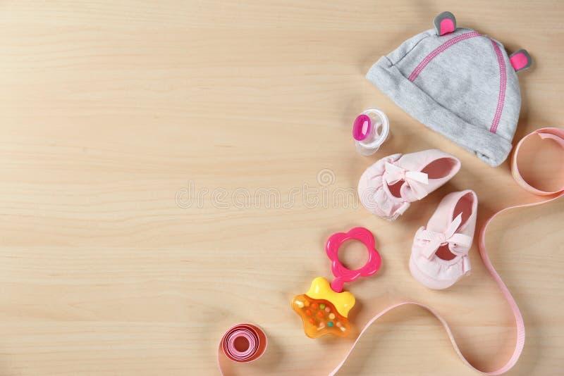 Presentes para a festa do bebê fotografia de stock