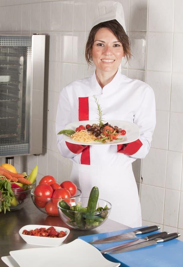 Presenting dish stock photos