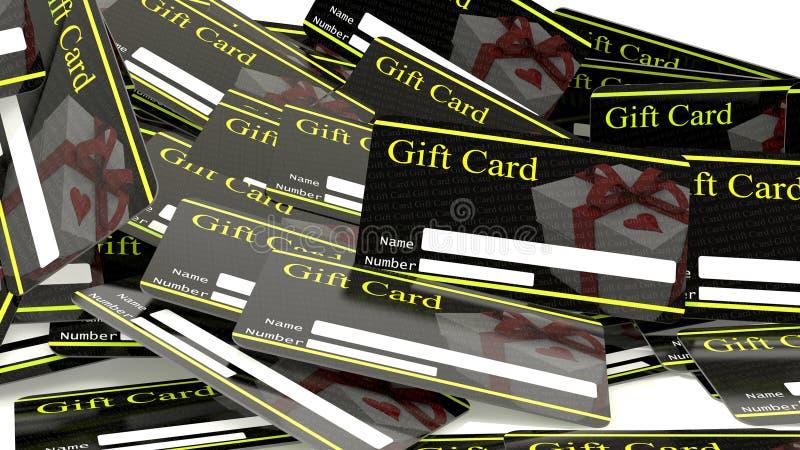 Download Presentkort stock illustrationer. Illustration av baner - 37348453