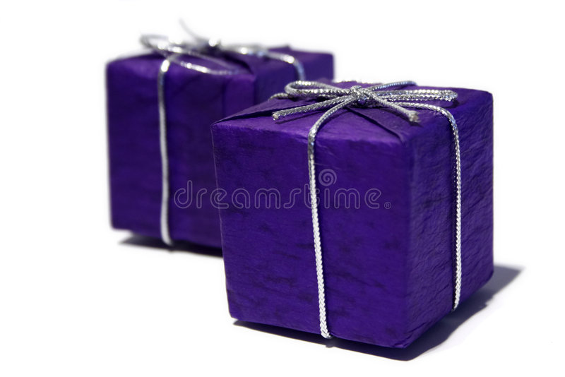 Download Presents stock image. Image of purple, wrapped, christmas - 102559