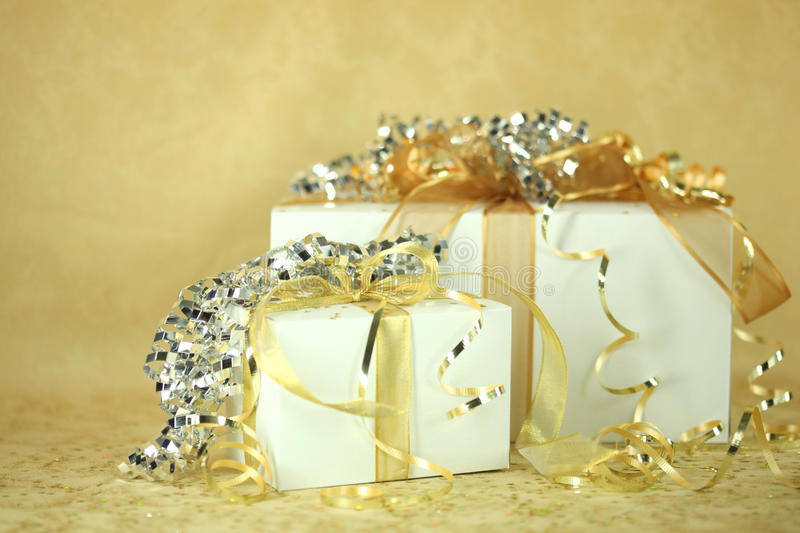 Download Presents stock image. Image of gifts, presents, metallic - 11642167