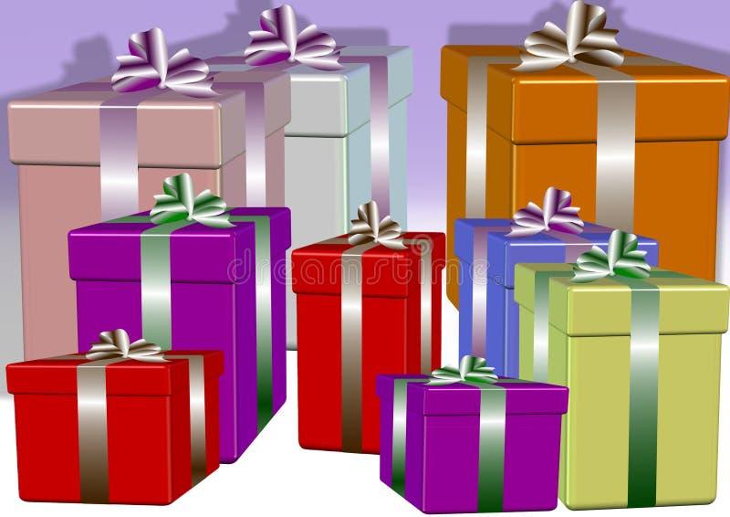 Download Presents stock illustration. Image of presents, blue - 19291460
