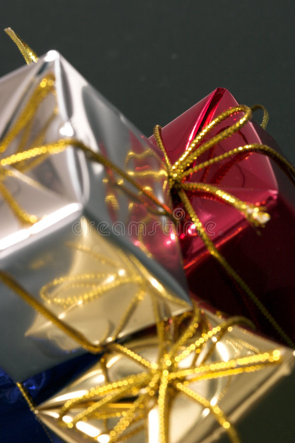 Download Presents 2 stock photo. Image of pyramid, wrap, large - 1424876