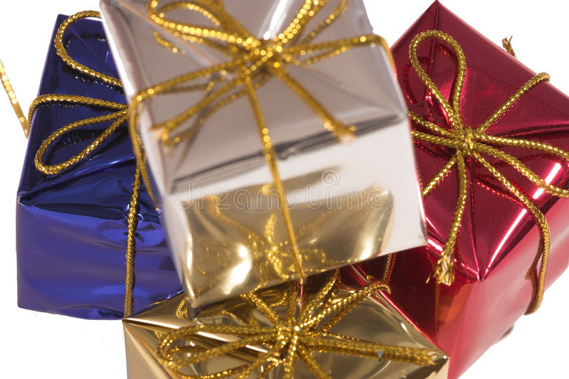 Download Presents 3 stock photo. Image of large, wrapped, gift - 1424870