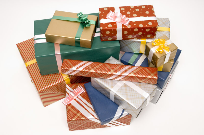 Download Presents 3 stock photo. Image of special, occasion, wrapped - 244638