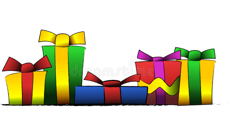 Presents royalty free illustration