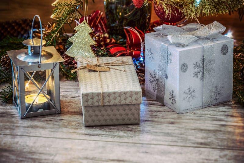 Presents Around The Christmas Tree Free Public Domain Cc0 Image