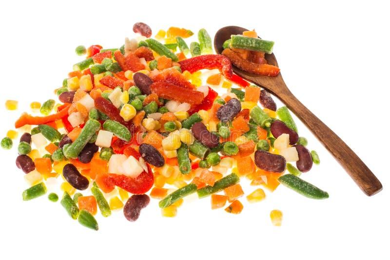Preservação das vitaminas congelando o vegetal fotos de stock