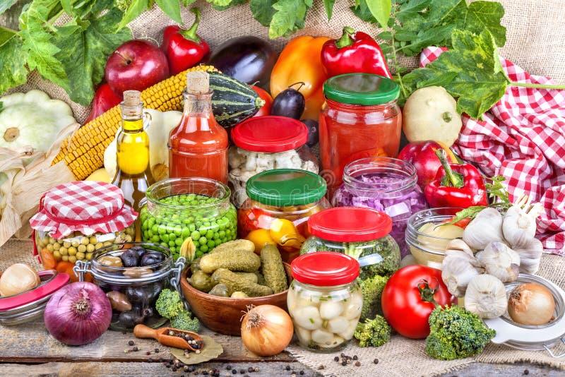 Preservação de alimento foto de stock royalty free