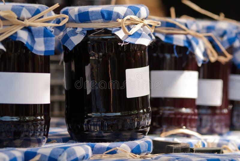 Preservando frascos imagens de stock royalty free