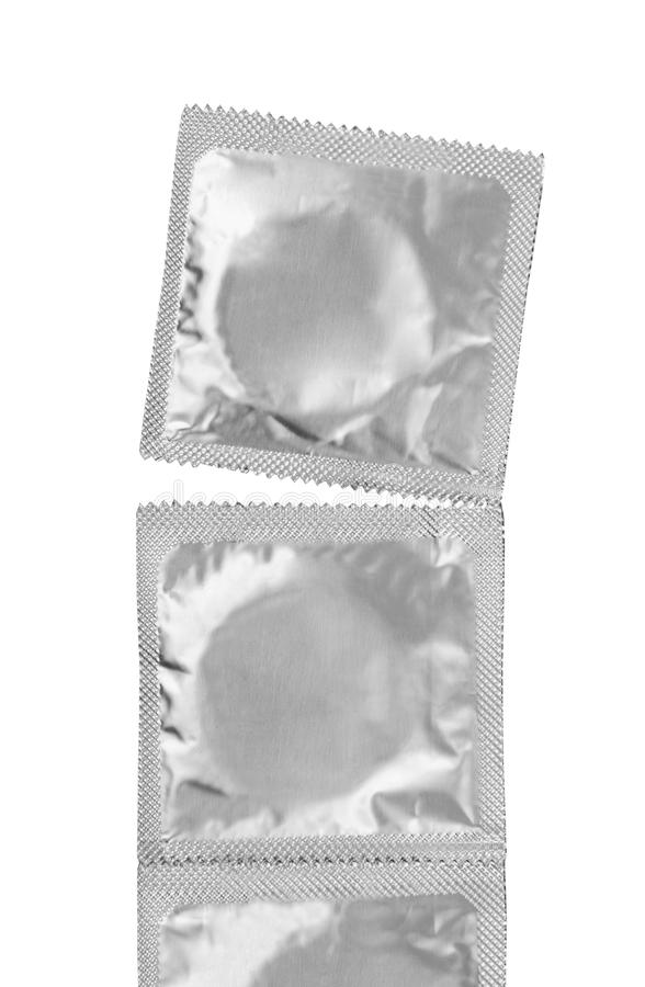 Preservativos fotografia de stock