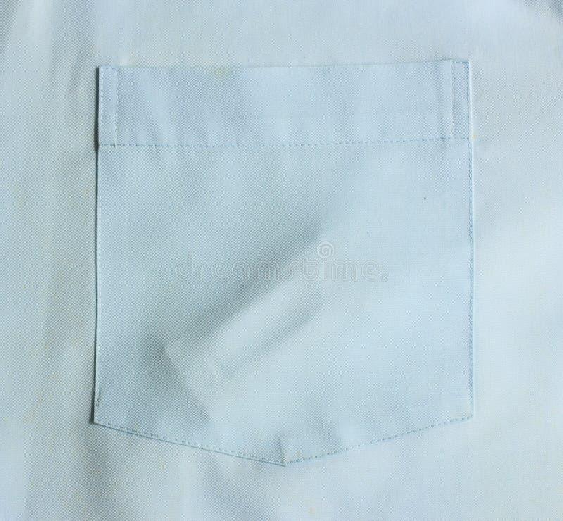 Preservativos na camisa do bolso imagem de stock