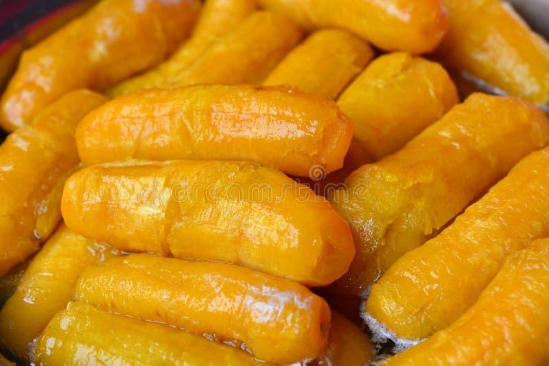 Preserved banana Thai royalty free stock images