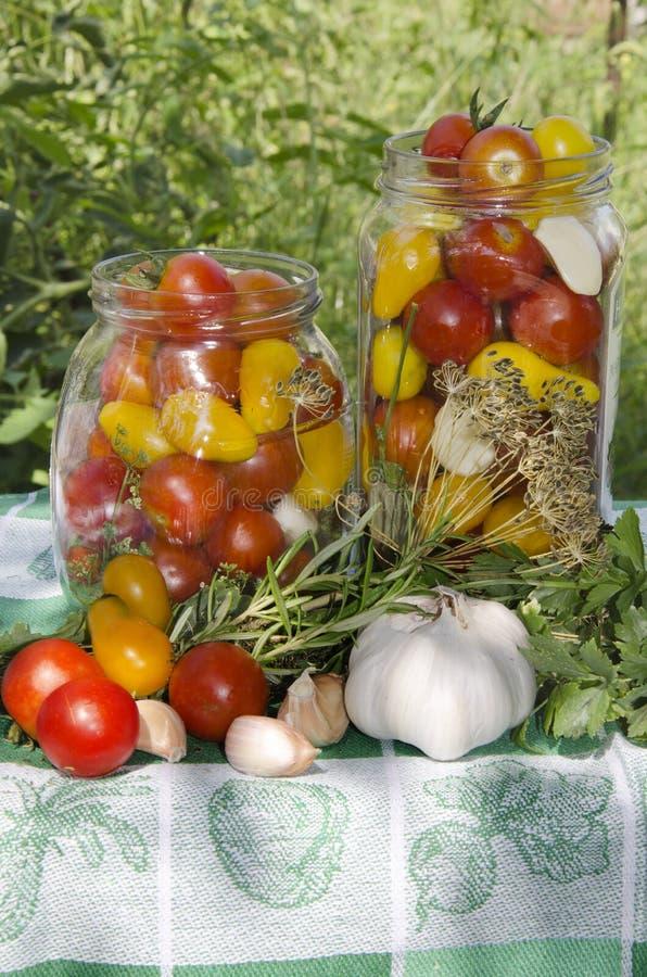 Preserving. Ingredients for preserving against garden stock images