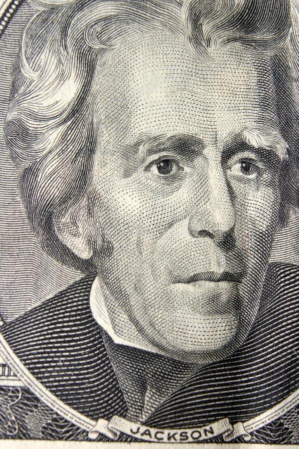 Download President Andrew Jackson Portrait Stock Photo - Image of american, dollar: 14457890