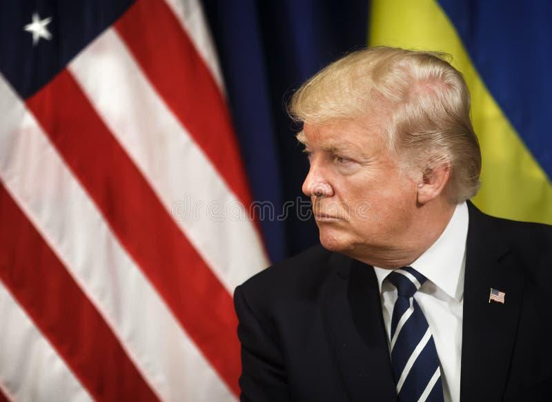 President av Förenta staterna Donald Trump fotografering för bildbyråer