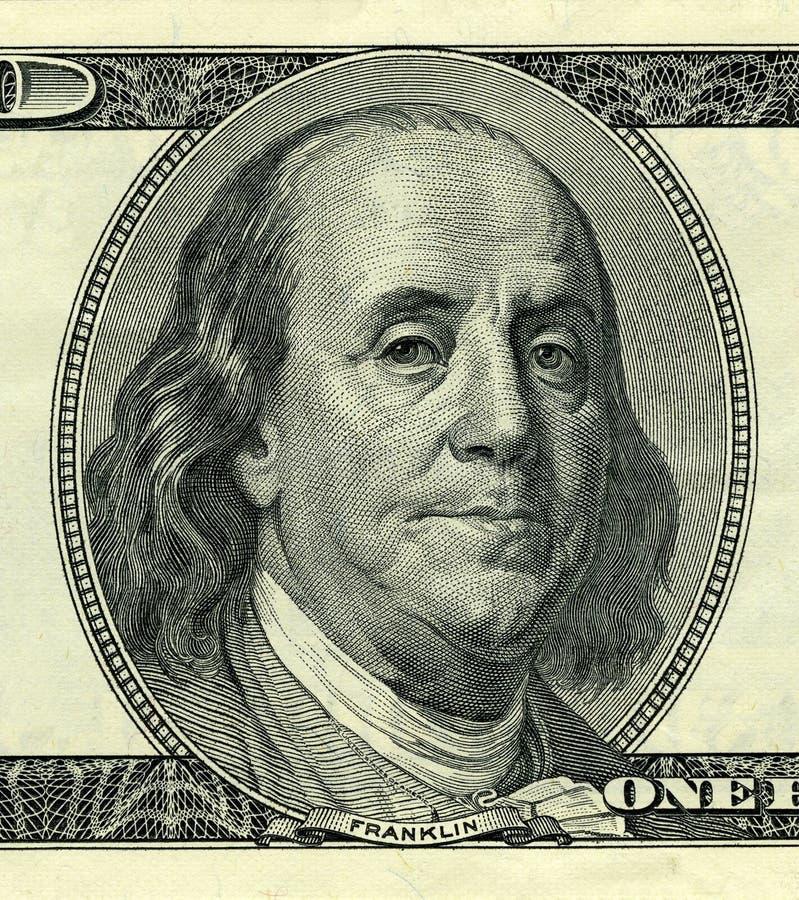 President Benjamin Franklin royalty-vrije stock foto's