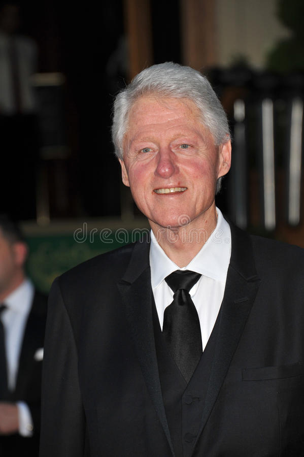 President Bill Clinton stock foto