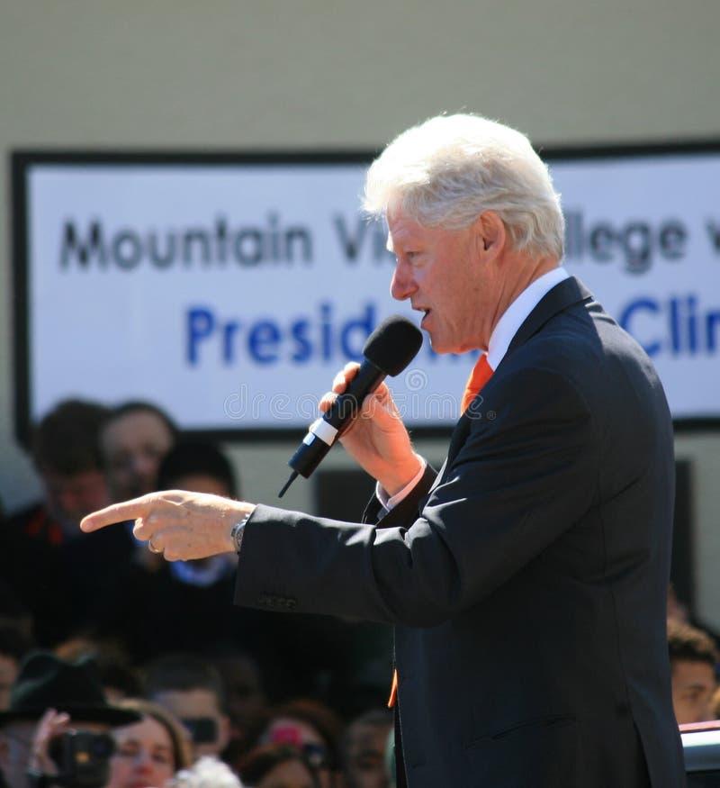 President Bill Clinton stock photos