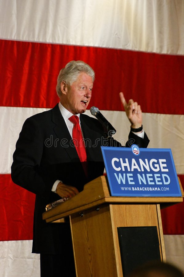 Free President Bill Clinton Royalty Free Stock Photography - 6736837