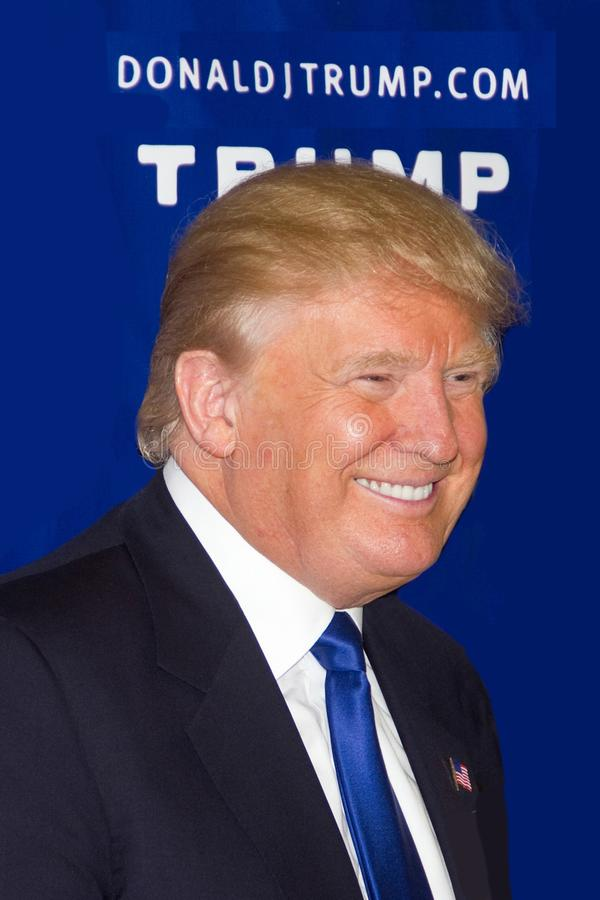 President Donald John Trump. 45th President of the United States-Republican-Businessman-TV personality-Graduate of Wharton School of Business Pennsylvania royalty free stock photos
