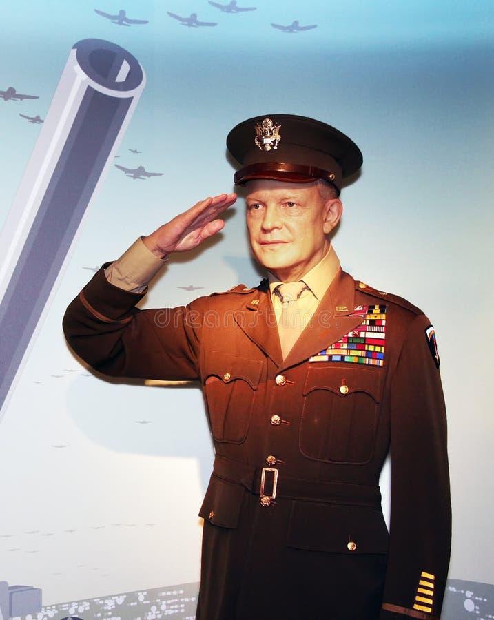 president för D Dwight Eisenhower arkivfoton