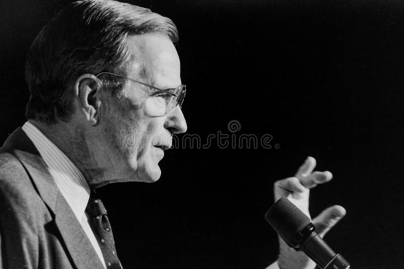 President George H.W. Bush. 41st President of United States. royalty free stock images