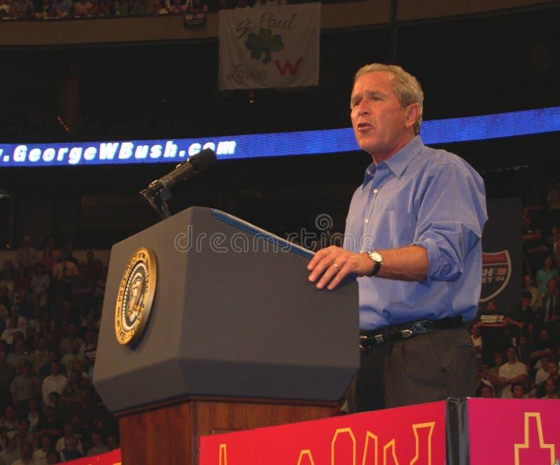 President George W. Bush royalty-vrije stock foto's