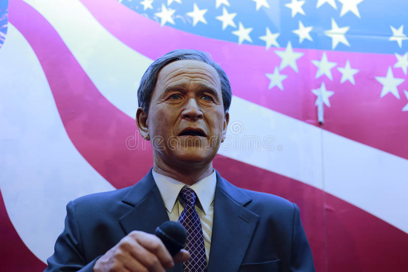 Download President George W. Bush's Wax Figure Editorial Stock Photo - Image: 30961183