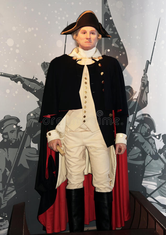 President George Washington royalty free stock photography