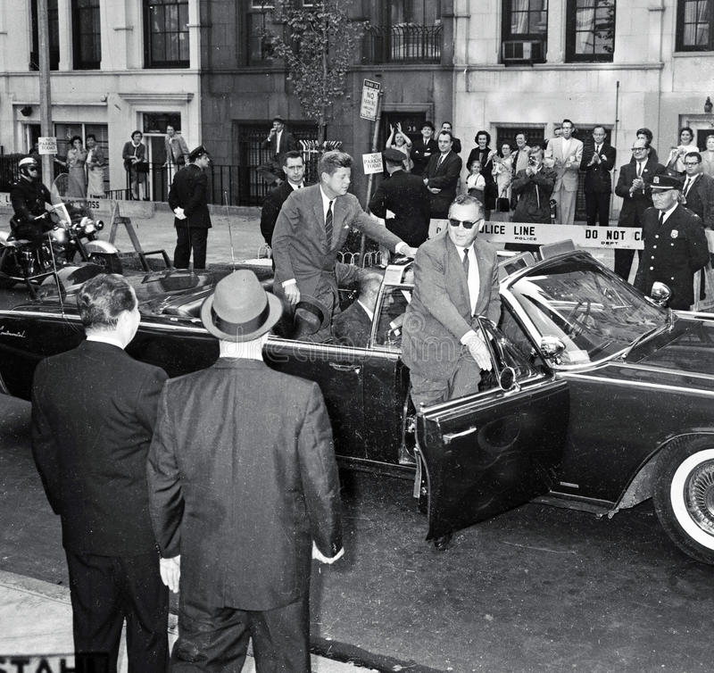 Free President John F. Kennedy In NYC Stock Photography - 60352842