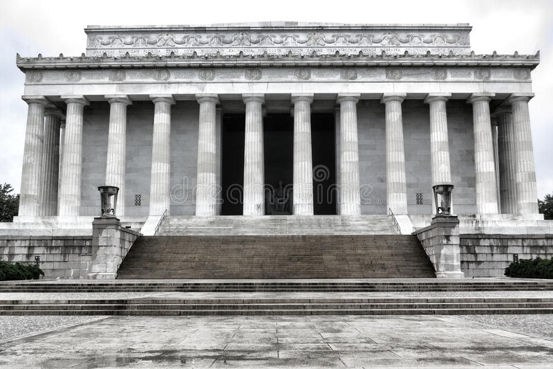 Download President Lincoln National Memorial Washington DC Stock Photo - Image of columns, memorial: 24806122