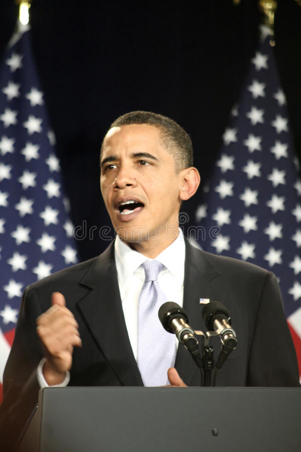 Free President Obama Royalty Free Stock Photography - 13091497