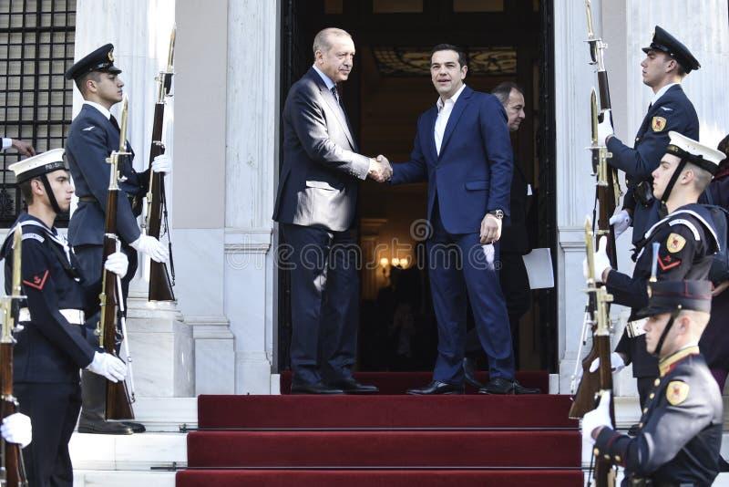 President Recep Tayyip Erdogan för Turkiet ` s royaltyfri fotografi