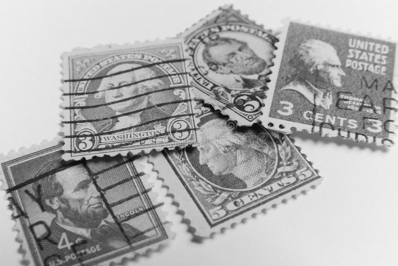 President stamps royalty free stock images