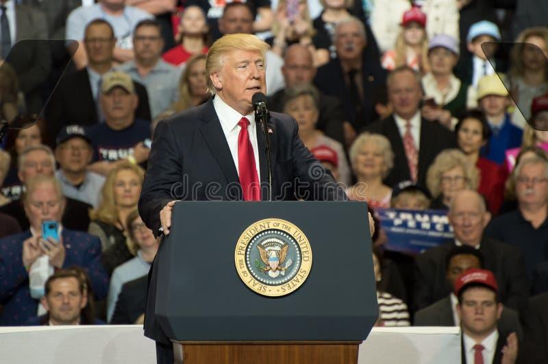 President Trump stock photo