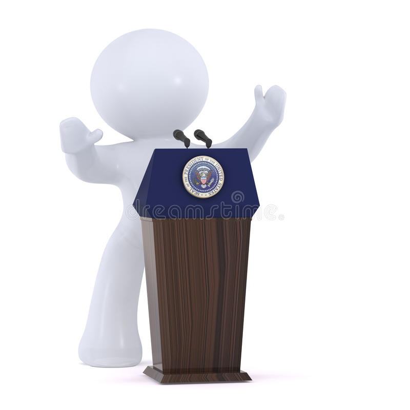 Download The President Of The United States Stock Illustration - Image: 15493719