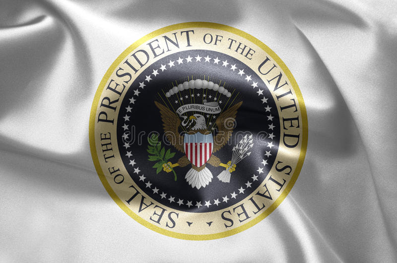 President of the US. Emblem of the President of the United States of America royalty free stock images