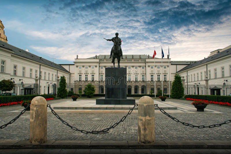 Presidental Palace stock photo