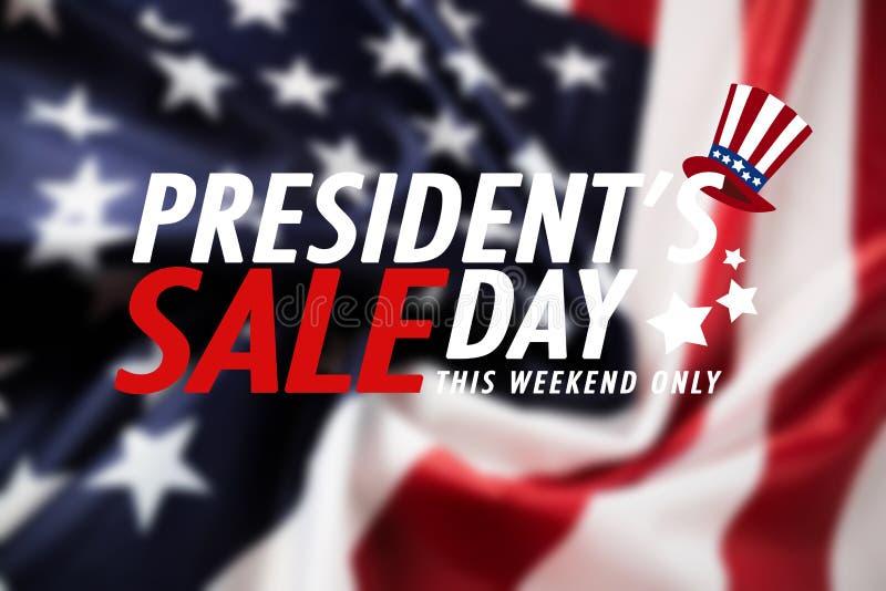 Presidentdagförsäljning - bild royaltyfria bilder