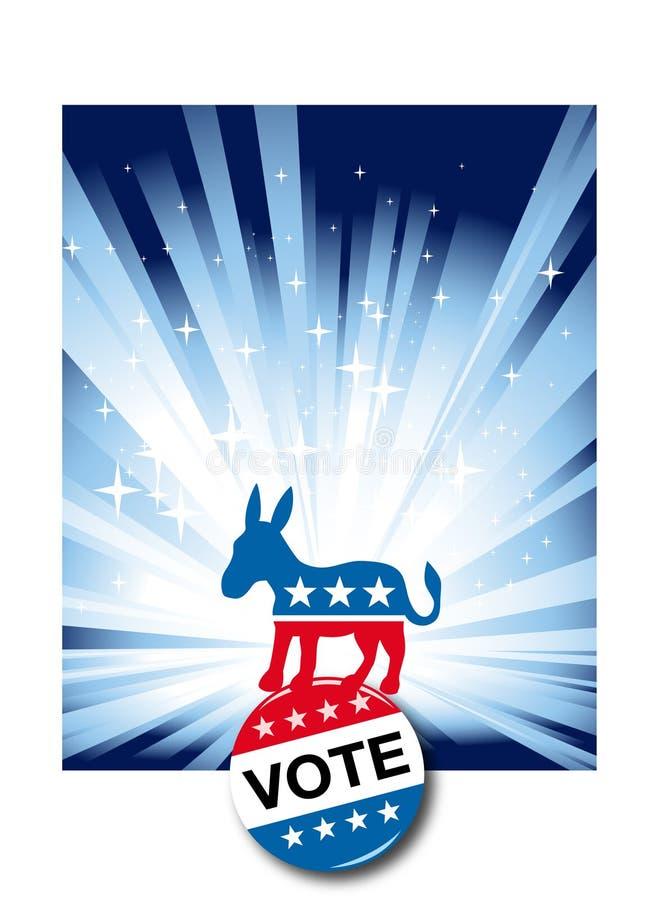Presidente 2008 Election ilustración del vector