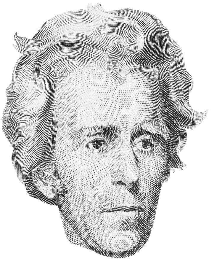 Presidente Andrew Jackson fotos de archivo