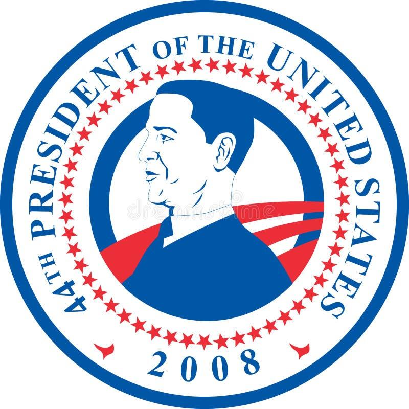 Presidente Barack Obama illustrazione vettoriale